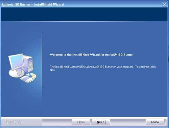 Active@ ISO Burner instalador
