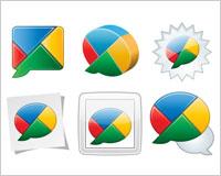 Descargar gratis iconos Google Buzz