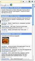 Chrome Buzz pantalla extensión