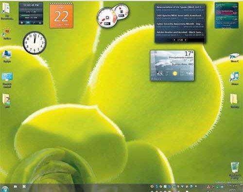 escritorio de Windows 7
