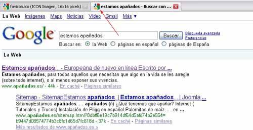 nuevo favicon de google