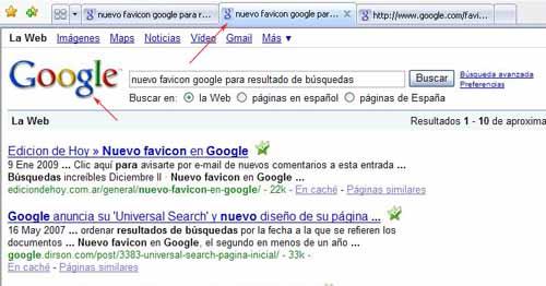 favico.ico antiguo de google