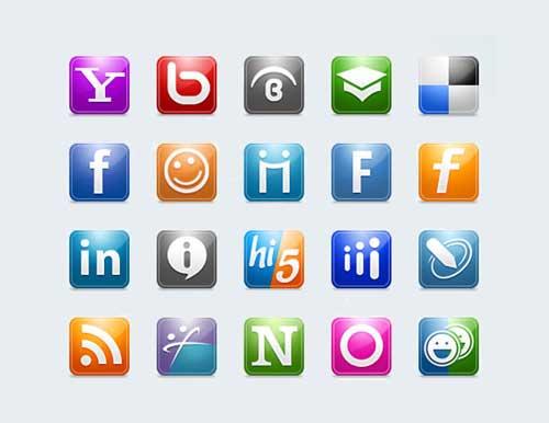 Iconos para Redes Sociales gratis