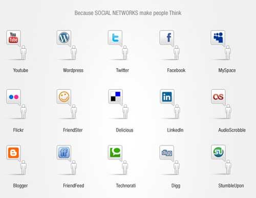 Iconos gratis para Redes Sociales con bocadillo de comentario