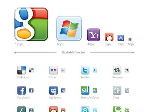 Iconos vectoriales gratis de Redes Sociales