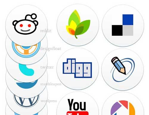 Iconos gratis para Redes Sociales de estilo original