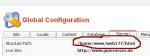 Joomla Configuration Global ruta a configuration.php