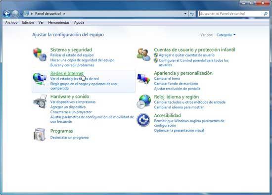 Windows 7 - Redes e internet