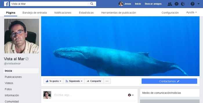 Facebook Vista al Mar