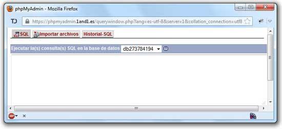 consulta MySQL