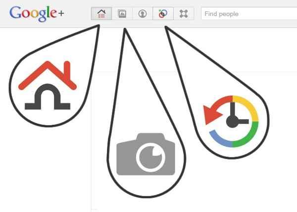iconos de Google + gratis