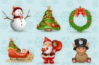 39 iconos de Navidad gratis