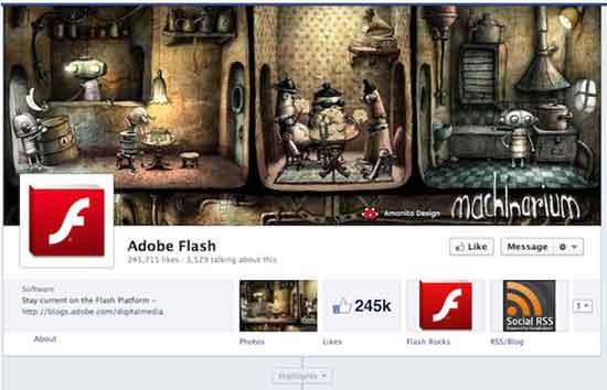 Facebook Adobe