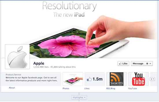 Facebook Apple