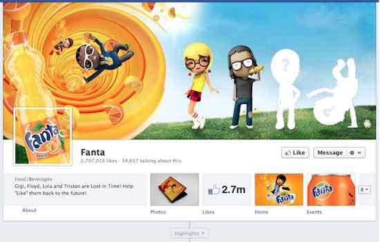 Facebook Fanta