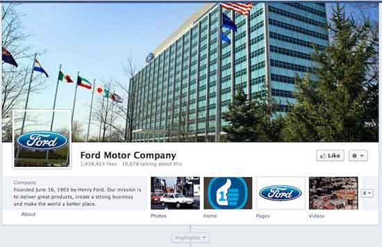 Facebook Ford