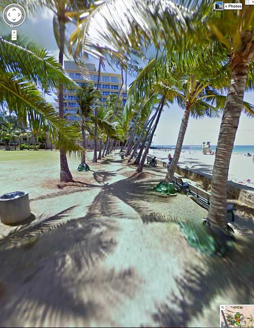 Google Street View, Honolulu