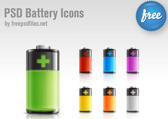 icono de batería