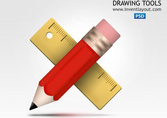 icono herramientas de dibujo