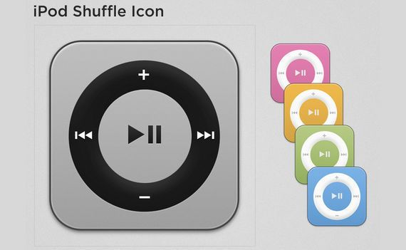 icono iPod shuffle