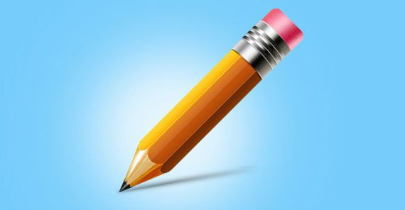 icono lápiz en alta resolución