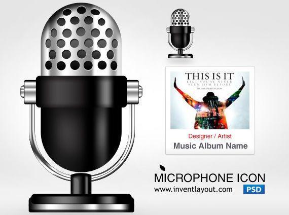 icono micrófono