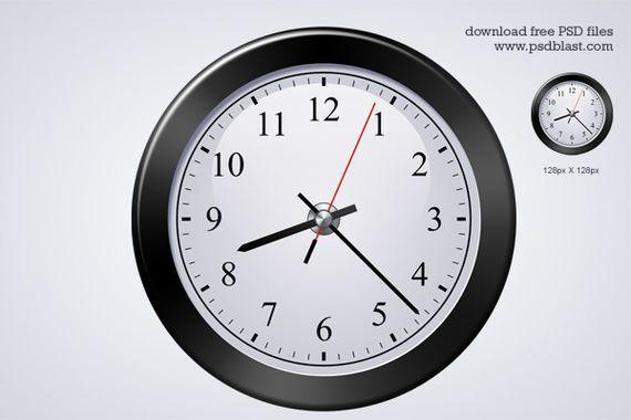 icono reloj clásico