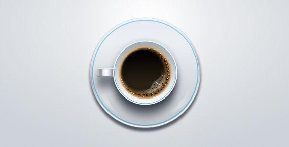 icono taza de café