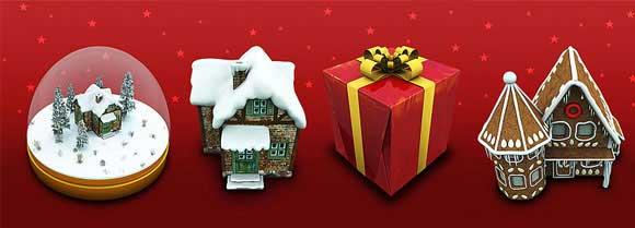 iconos de Navidad artísticos de alta calidad