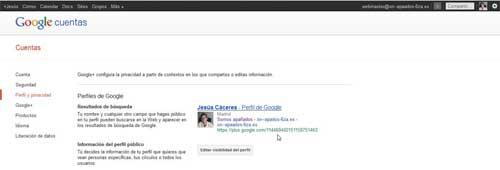 Encontrar ID de Google +, URL del ID de Google +