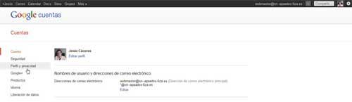 Encontrar ID de Google +, perfil y privacidad