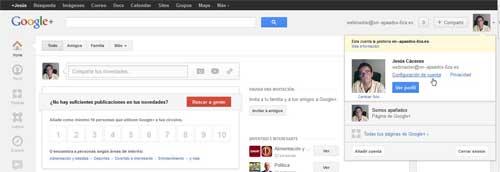 buscar ID de Google +