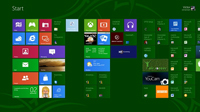 interfaz de Windows 8