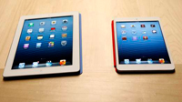 Tabletas iPad normal e iPad Mini