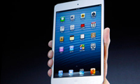 iPad Mini, primer plano