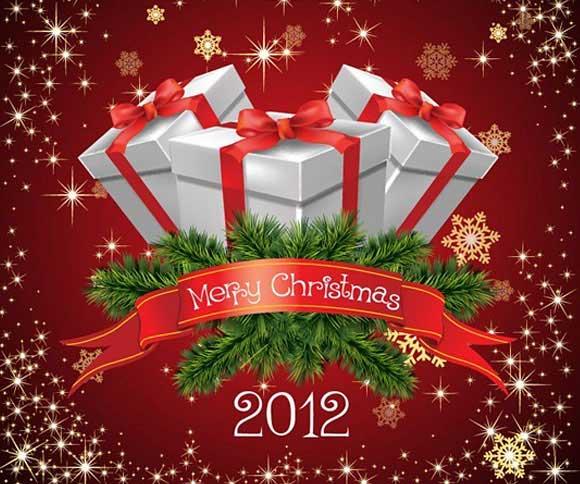 Navidad iconos cajas de regalo