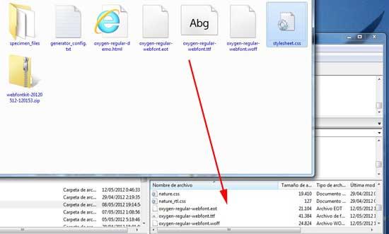 subir archivos al servidor