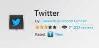 Twitter para BlackBerry