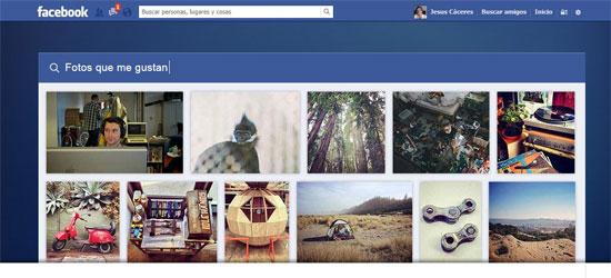 Facebook Graph Search, búsqueda de fotos