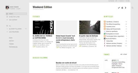 Feedly para Chrome, feeds de Google reader
