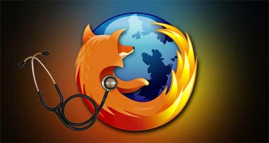 Informe de salud Firefox