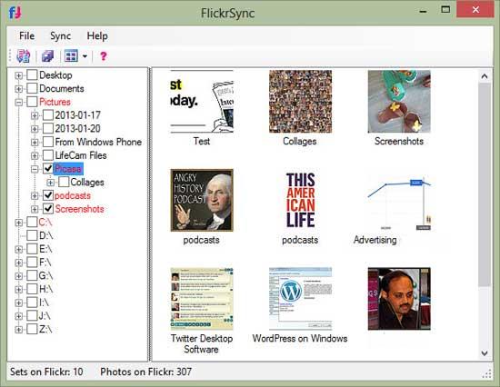 FlickrSync