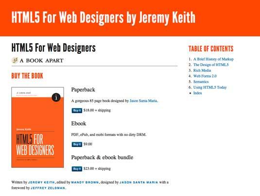 HTML5 para diseñadores web