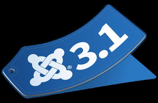 Joomla 3.1 logo
