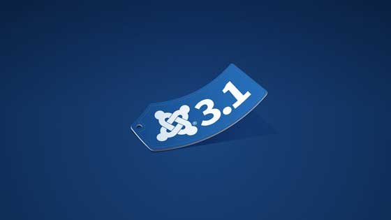 Joomla 3.1 logo etiqueta