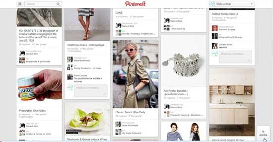 Nueva imagen de Pinterest - ir arriba