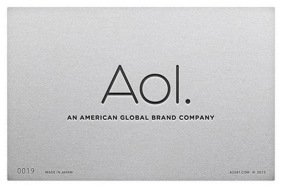 Aol - logo retro