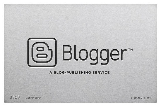 Blogger - logo retro