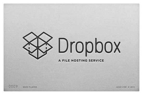 Dropbox - logo retro