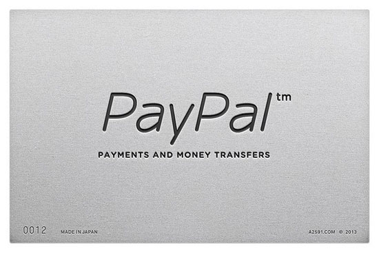 Paypal, logo Made in Japan